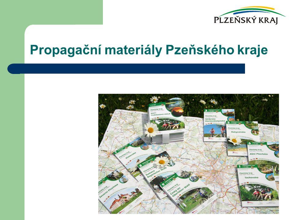 Propagační materiály Pzeňského kraje