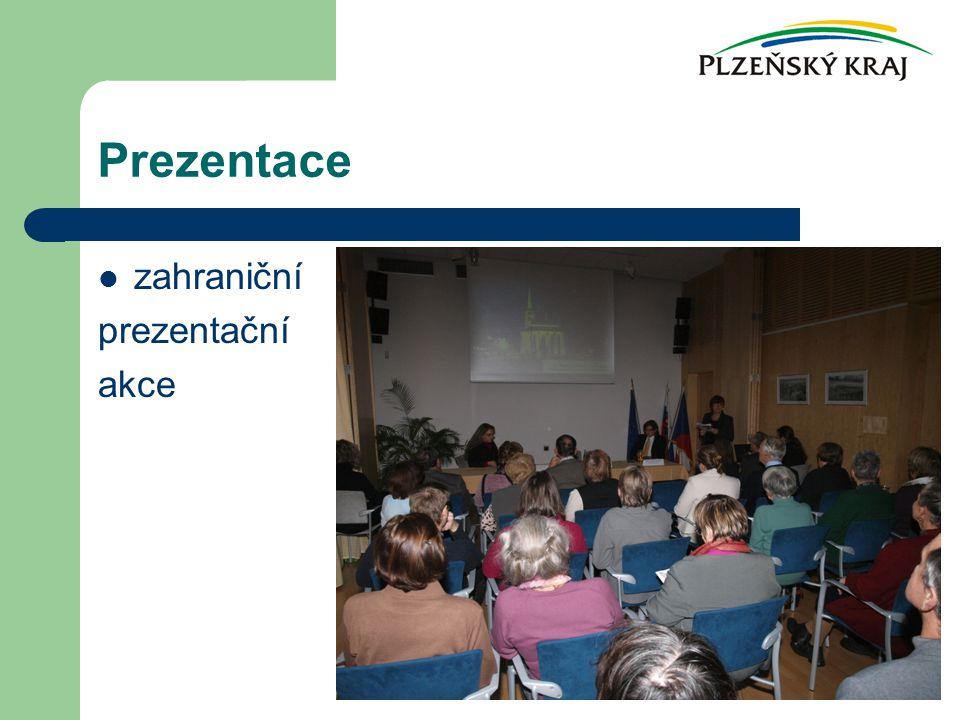 Prezentace zahraniční prezentační akce
