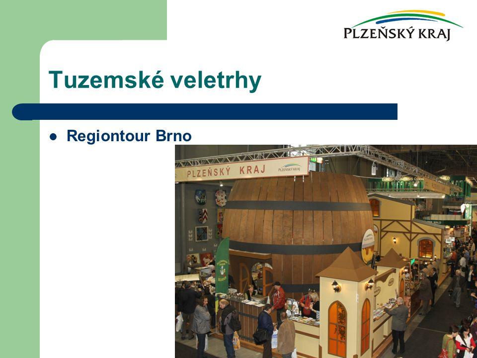 Tuzemské veletrhy Regiontour Brno