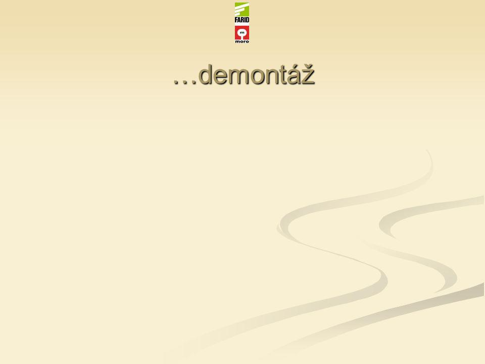 …demontáž