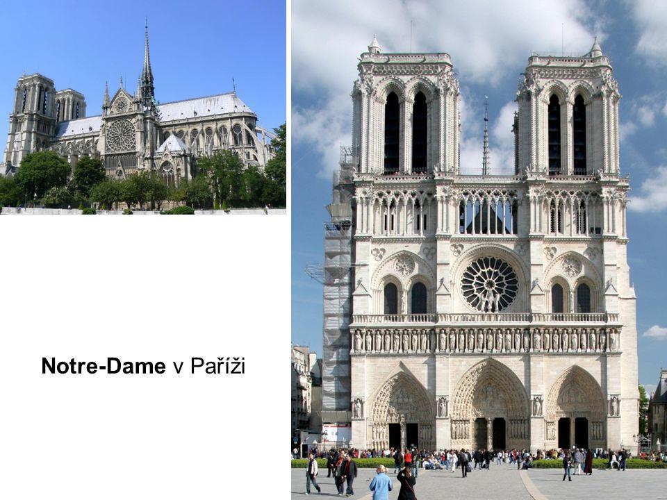 Notre-Dame v Paříži