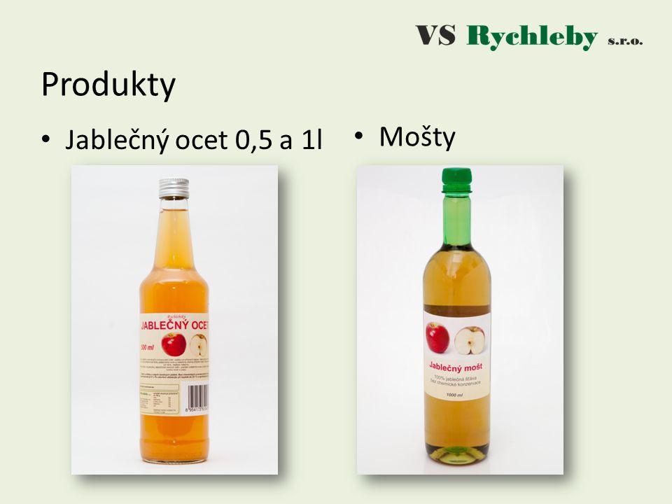 Jablečný ocet 0,5 a 1l Produkty Mošty