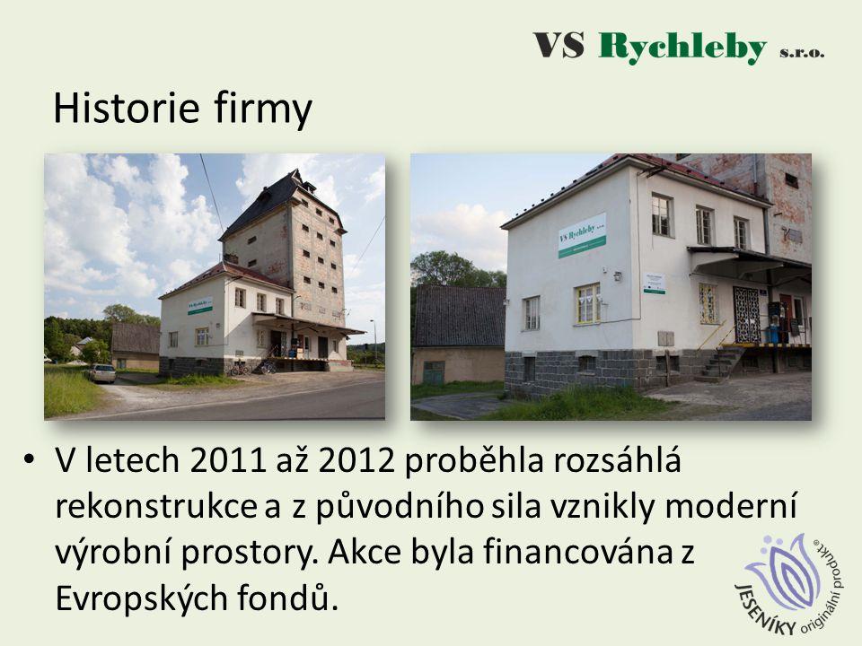 V letech 2011 až 2012 proběhla rozsáhlá rekonstrukce a z původního sila vznikly moderní výrobní prostory.