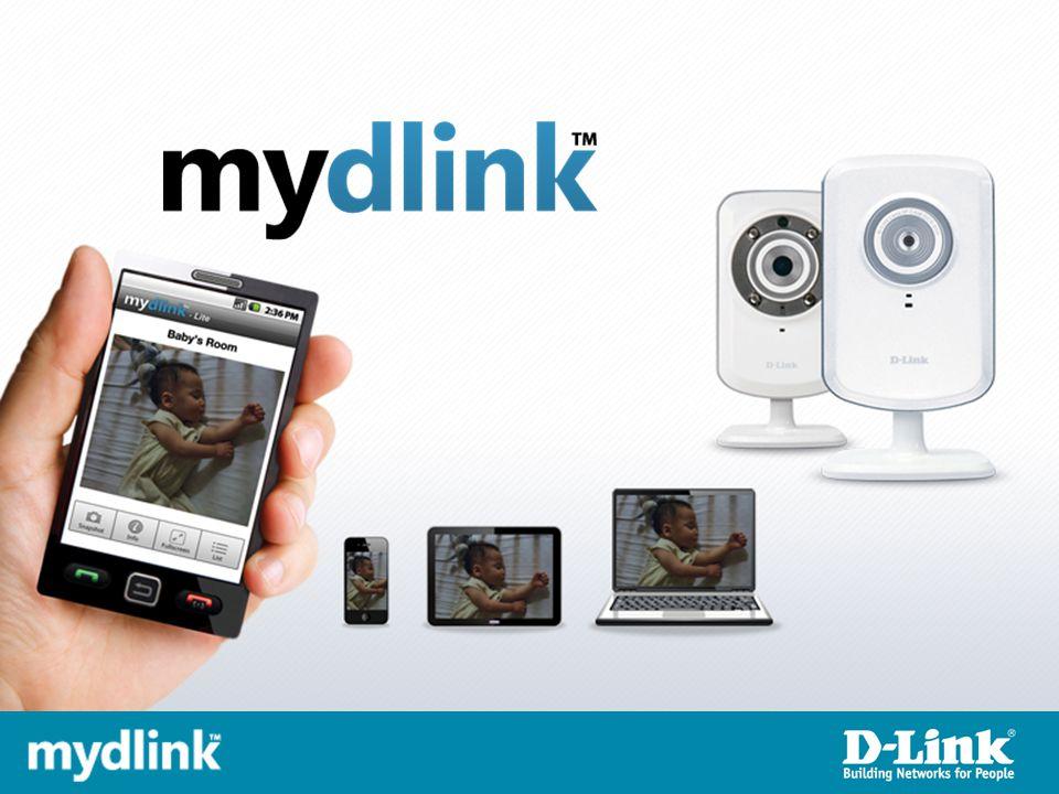 Představení mydlink TM Co je mydlink Mobilní aplikace Proč mydlink Pro koho je mydlink určen Rodina produktů mydlink