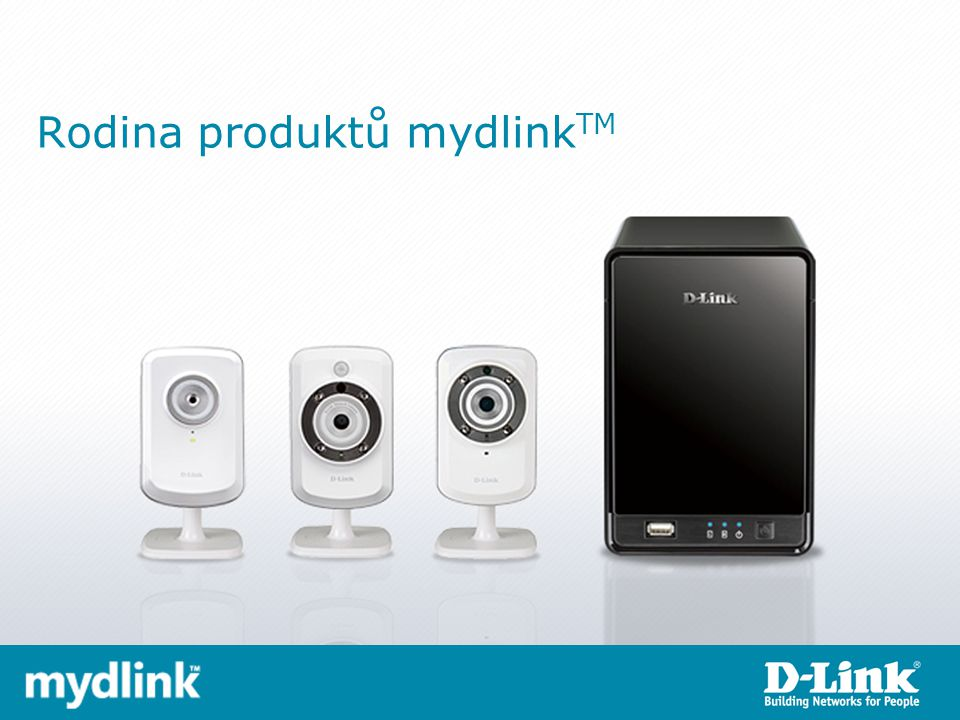 Rodina produktů mydlink TM