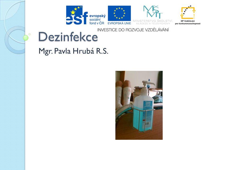 Dezinfekce Mgr. Pavla Hrubá R.S.
