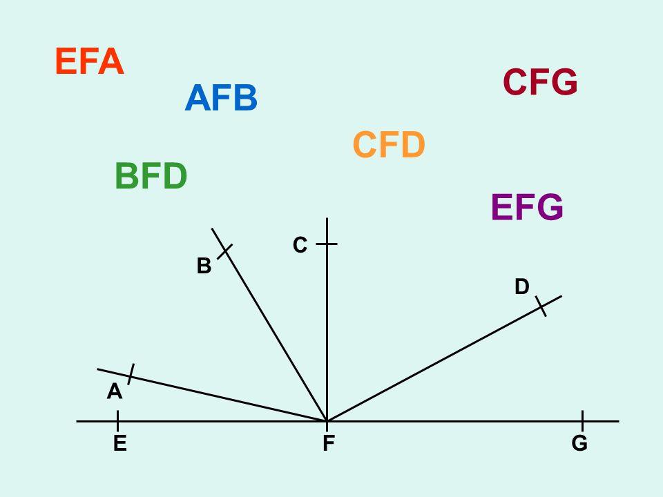 EFG A B C D EFA AFB BFD CFD CFG EFG