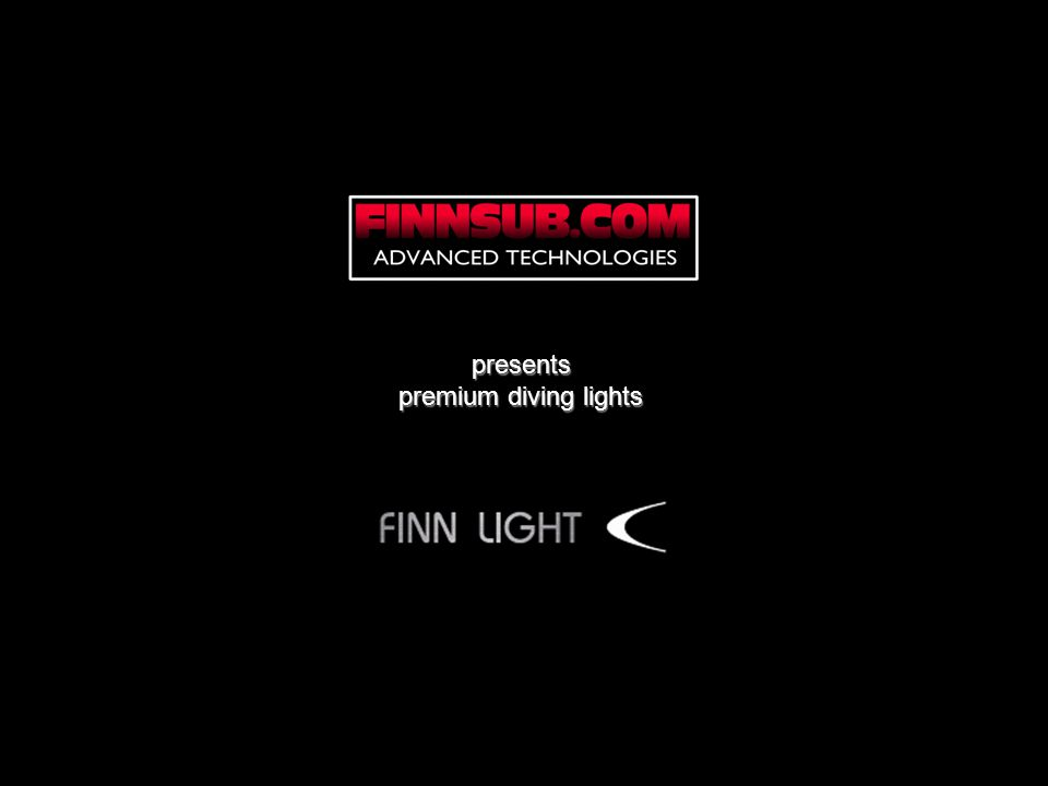 presents premium diving lights