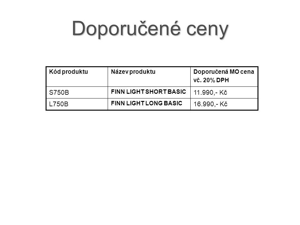 Doporučené ceny Kód produktuNázev produktuDoporučená MO cena vč.