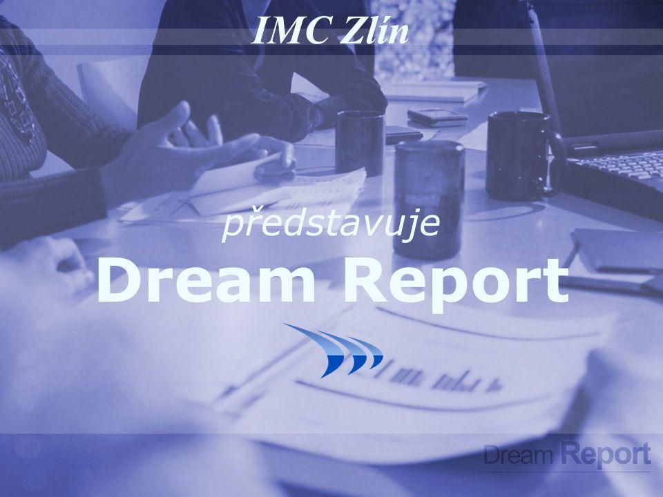 Dream Report je první reportovací řešení pro průmyslovou automatizaci Jedná se o řešení, které je velmi jednoduché jak pro obsluhu, tak z hlediska nastavení Automaticky vytváří a zasílá PDF a XLS reporty Systém je vytvořen jak pro dávkové, tak pro kontinuální výrobní procesy –Automobilová výroby- Řízení budov –Chemický průmysl- Správa zařízení –Facilities - Potravinářský průmysl –Strojírenská výroby- Energetika –Farmaceutický průmysl- Odpadní vody –Vodárenství –…–… Může být připojen ke zdrojům dat v reálném čase nebo může využít uložených dat Rozvíjí možnosti SCADA systémů, výrobních a podnikových IT sysémů Intouch – InSQL – Citect – DeltaV – FactoryLink - Indusoft – Genesis - iFix – Cimplicity Movicon – Panorama - PCIM - PI – Proficy – PcVue – RS View – WinCC – Wizcon … Systém je již akceptován a využíván předními společnosti v oboru a zákazníky