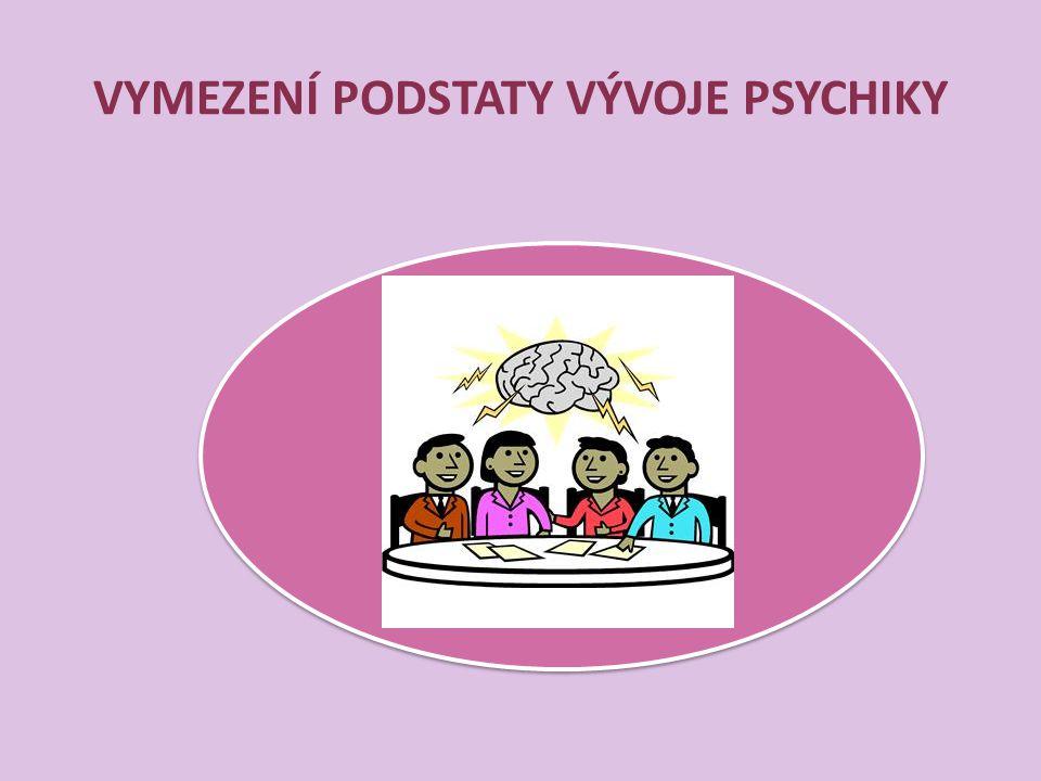 VYMEZENÍ PODSTATY VÝVOJE PSYCHIKY