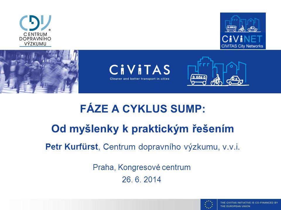Zapojování stakeholderů v cyklu SUMP PLÁN UDRŽITELNÉ MĚSTSKÉ MOBILITY 26.