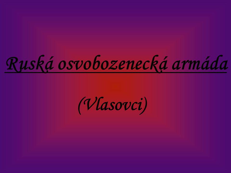 Ruská osvobozenecká armáda (Vlasovci)