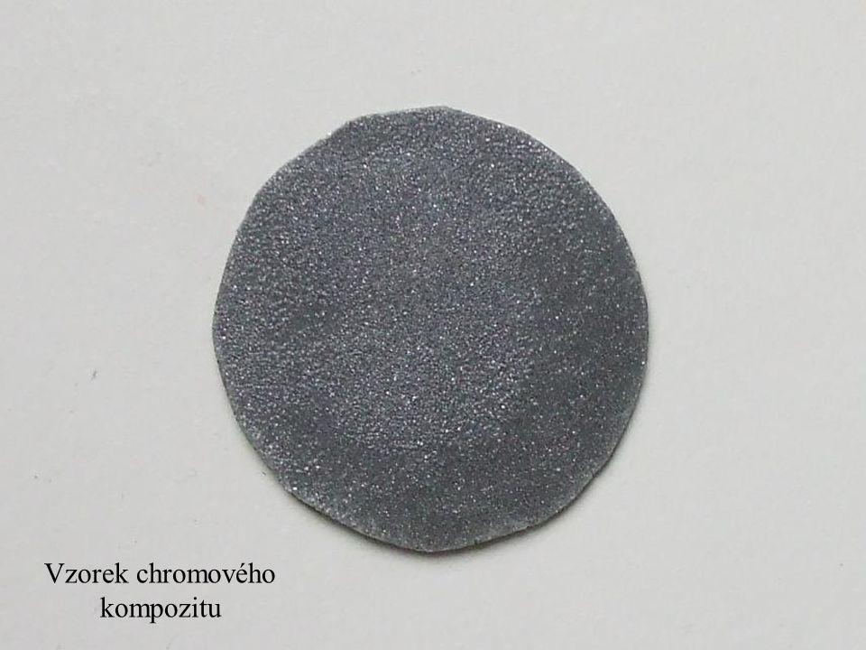 Teplotní závislost dielektrické konstanty – kompozitní dielektrika Výroba kompozitního dielektrika - vytvoření směsi bezbarvého laku a práškového kovu
