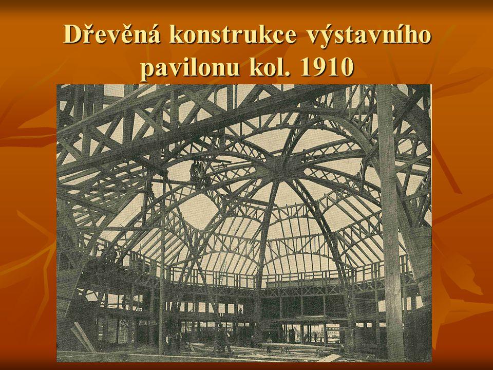 Novodobé konstrukce větších rozpětí Konstrukce užívané v počátcích novověku se v druhé polovině 19.