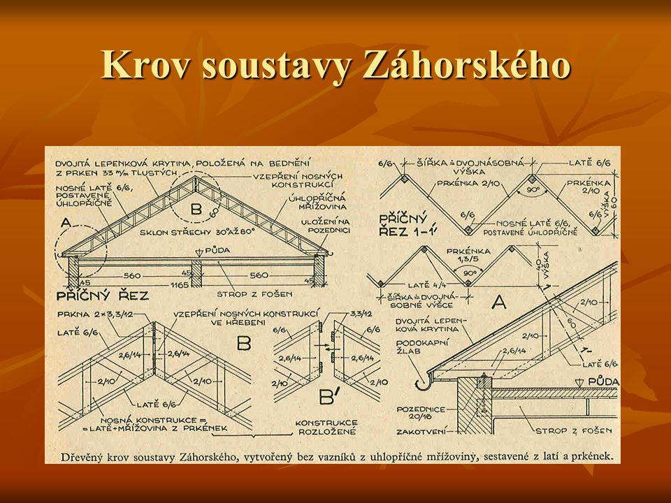 Krov soustavy Záhorského