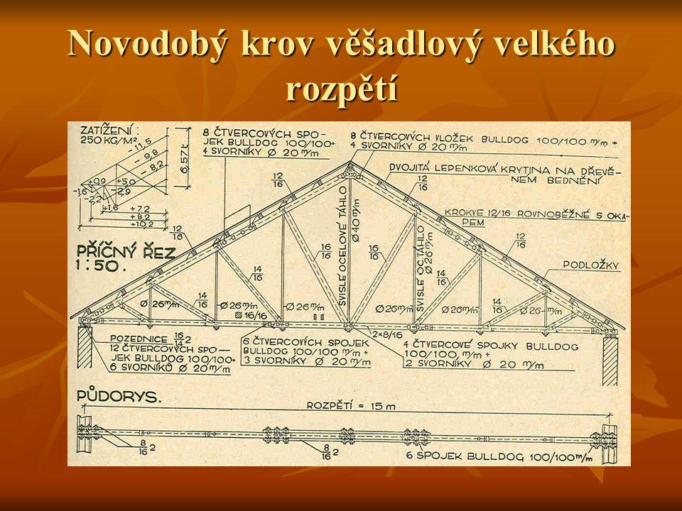 Lepená dřevěná konstrukce postavená firmou Müller a Kapsa v Mladé Boleslavi