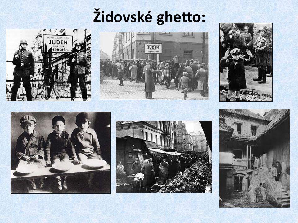 Židovské ghetto: