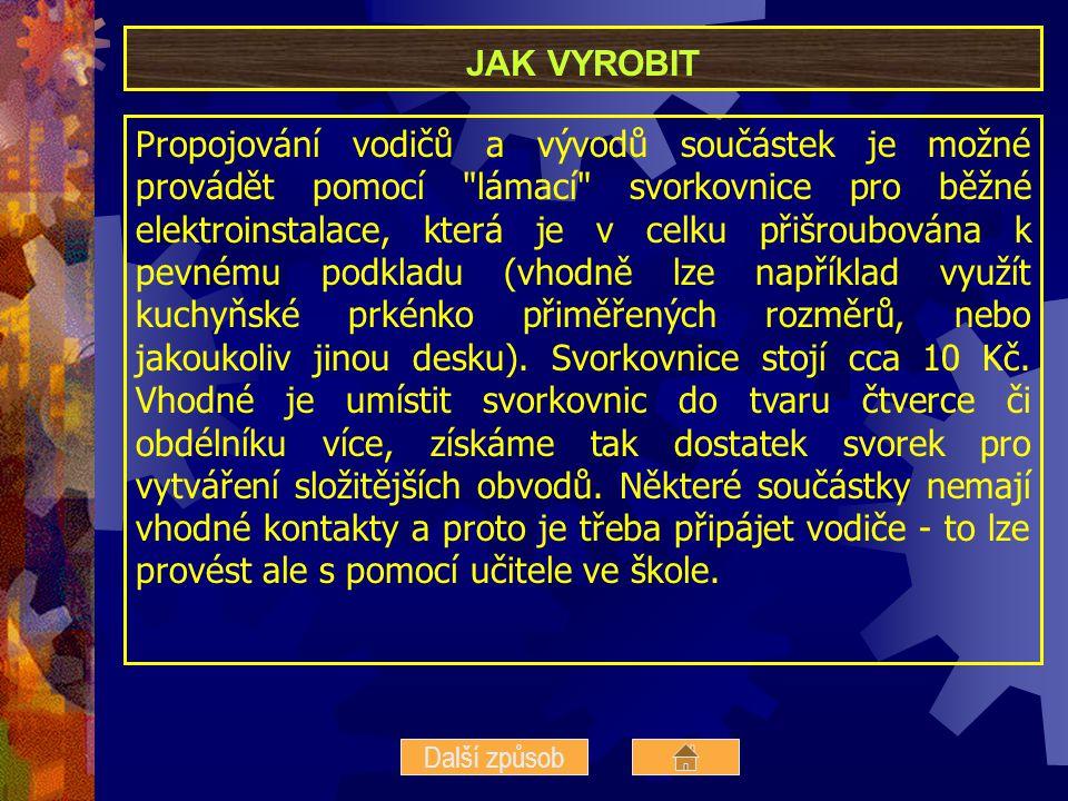 PUBLIKACE 1.SERAFÍN, Č. Konstrukční a elektrotechnické stavebnice v technické výchově.
