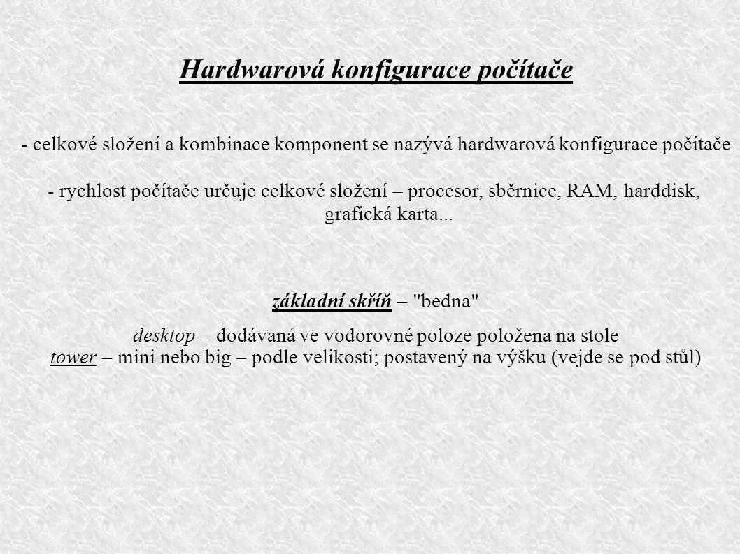 část III. Hardware