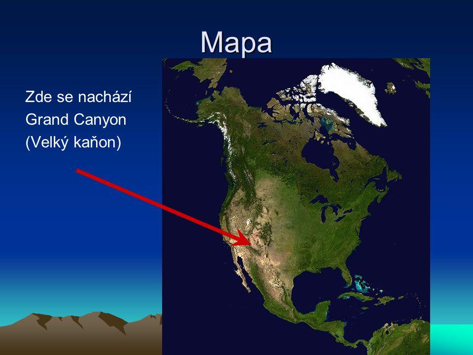 Grand Canyon je nejznámější a největší kaňon na světě.