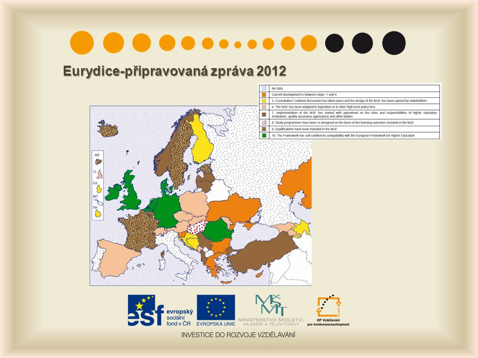 Eurydice-připravovaná zpráva 2012