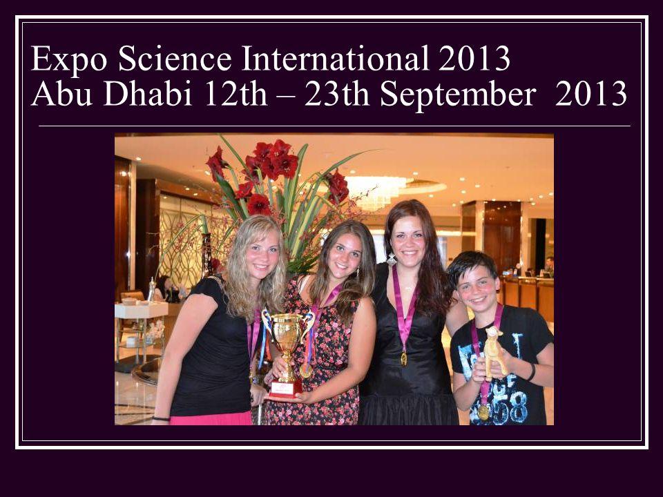 Abu Dhabi – Second day – ESI 2013