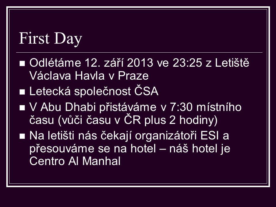 Abu Dhabi – Eleventh day – Dubai