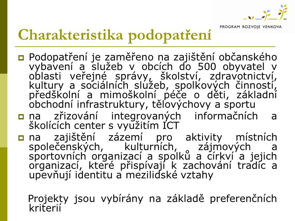 Legislativní rámec  Čl.52 b) a 56 Nařízení Rady (ES) č.