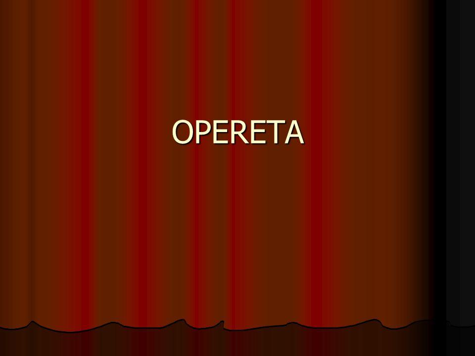 Opereta u nás začala získávat oblibu od 20.let XX.