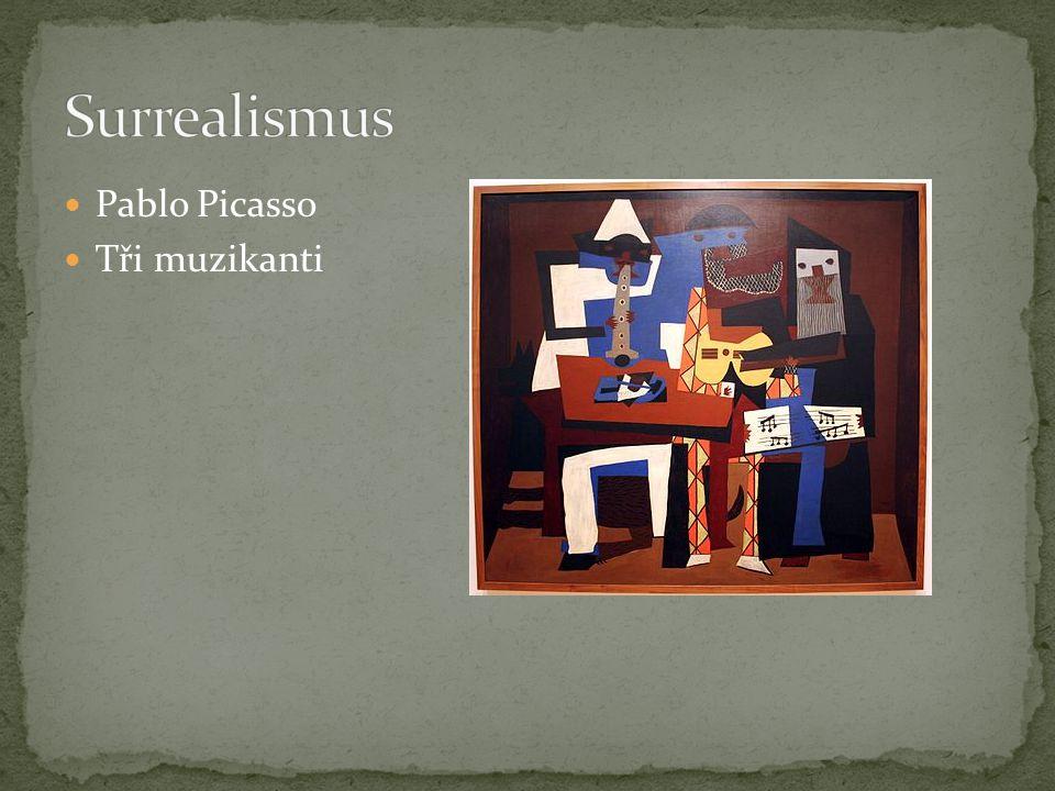 Pablo Picasso Tři muzikanti