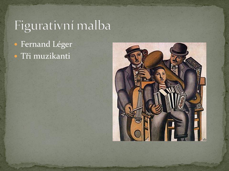 Fernand Léger Tři muzikanti