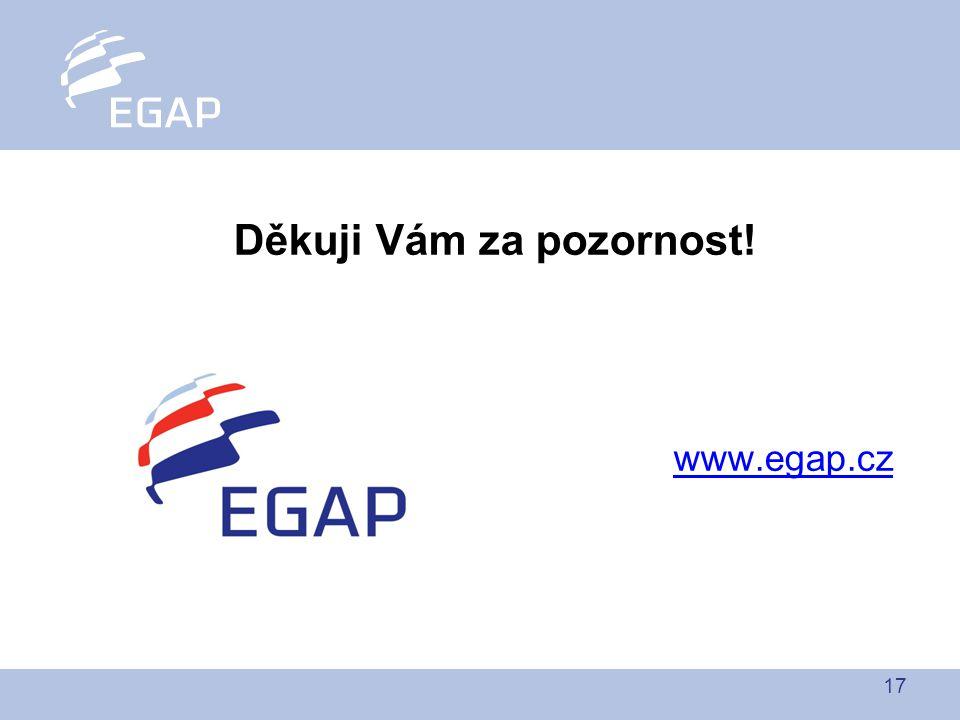 17 Děkuji Vám za pozornost! www.egap.cz