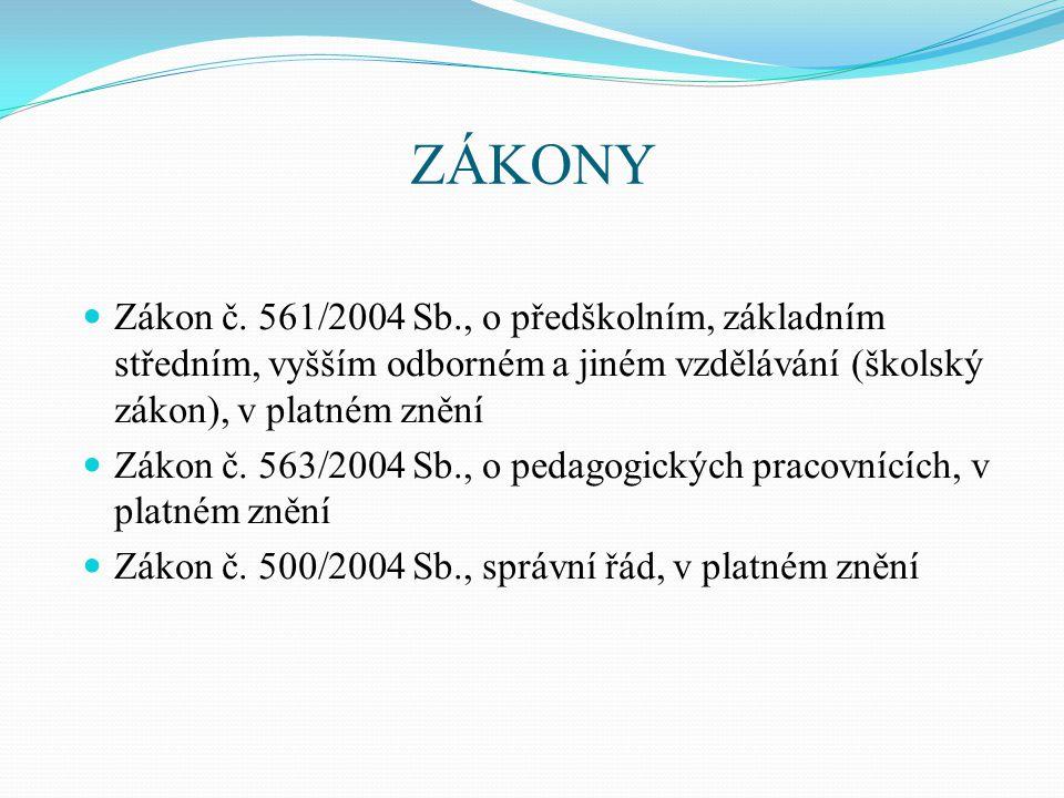 VYHLÁŠKY Vyhláška č.