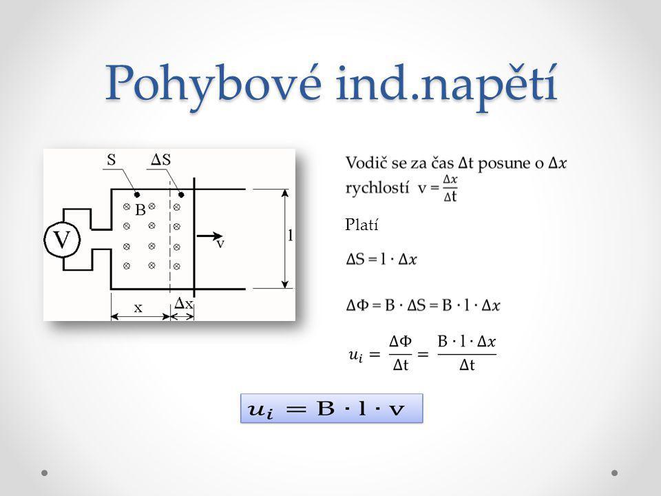 Vzájemná indukčnost V případě těsné vazby cívek (cívky těsně vedle sebe, na železném jádře) bude platit Φ 12 = Φ 1 = Φ 2 a λ 12 = λ 1 = λ 2 = λ Mag.vodivost λ 12 cívek závisí na poloze cívek a permeabilitě cesty mag.