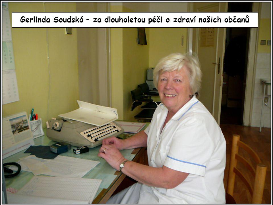 Gerlinda Soudská – za dlouholetou péči o zdraví našich občanů