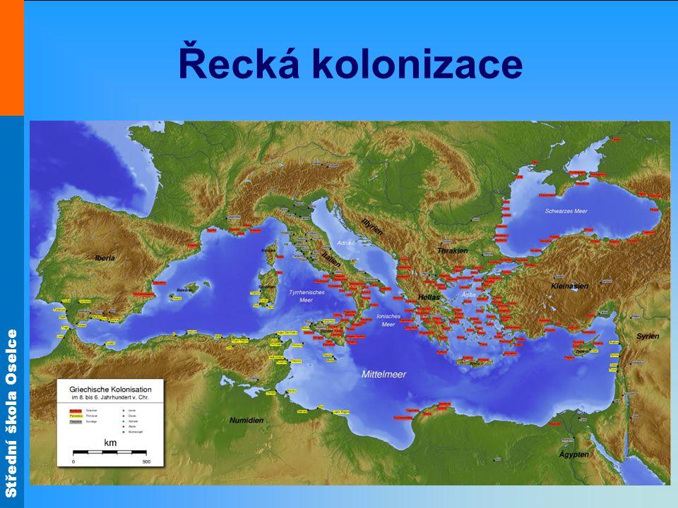 Střední škola Oselce Řecká kolonizace