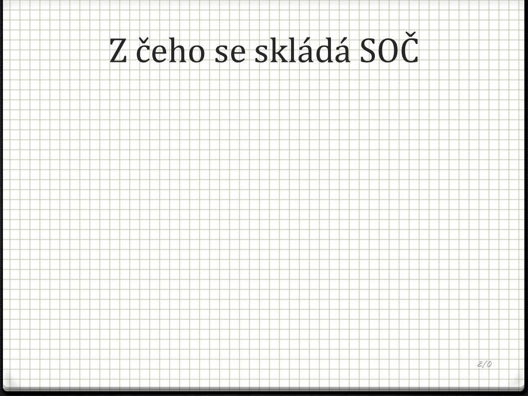 Z čeho se skládá SOČ 2/0