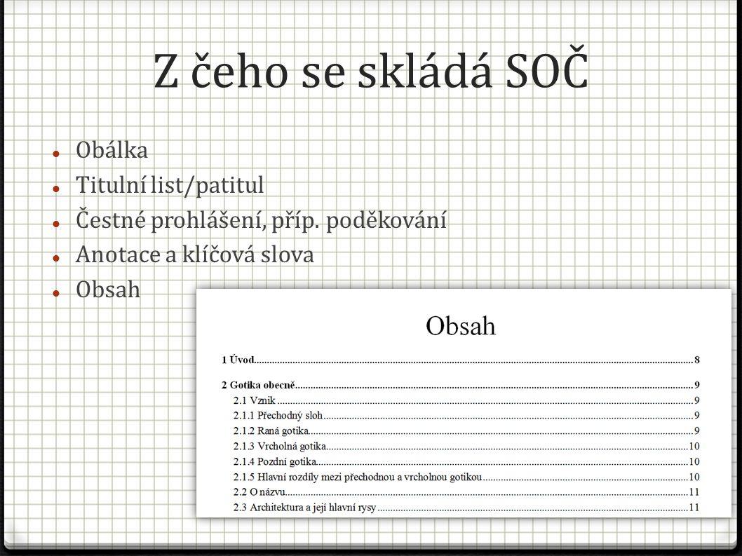 Grafická úprava Papír formátu A4, možno tisknout oboustranně 4/1