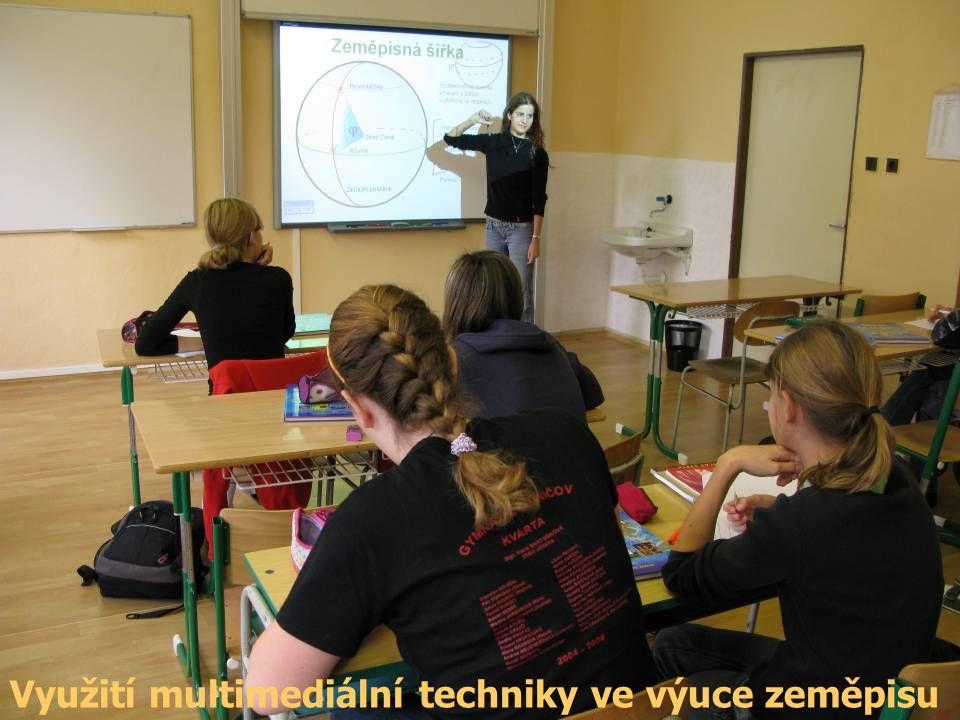 Využití multimediální techniky ve výuce zeměpisu