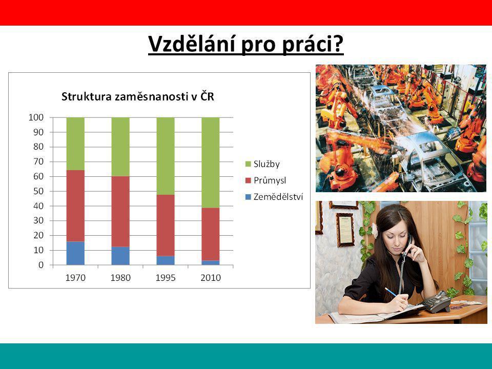 Vzdělání pro práci?