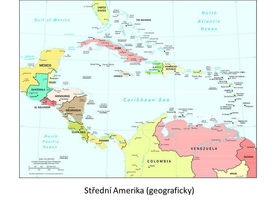 Střední Amerika (geograficky)