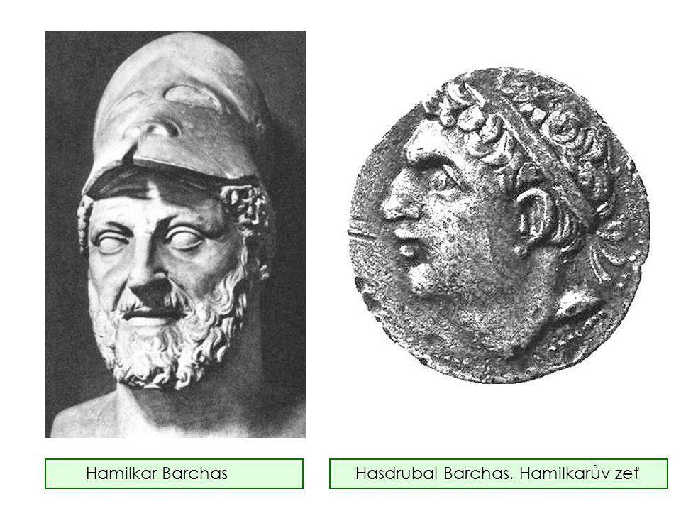 Hamilkar Barchas Hasdrubal Barchas, Hamilkarův zeť