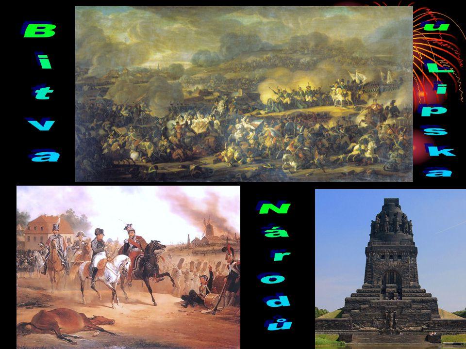 Zhroucení impéria Napoleon postavil nové vojsko(hlavně od spojenců) a pokračoval v obraně. Nakonec se jeho vojska střetla s nepřátelskou koalicí v tzv
