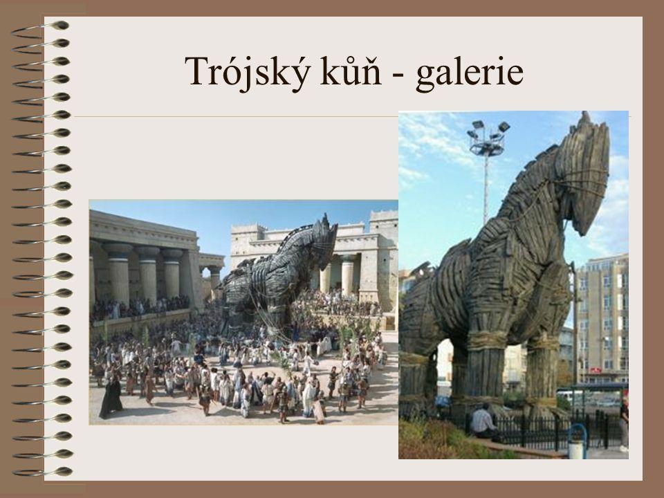 Trójský kůň - galerie