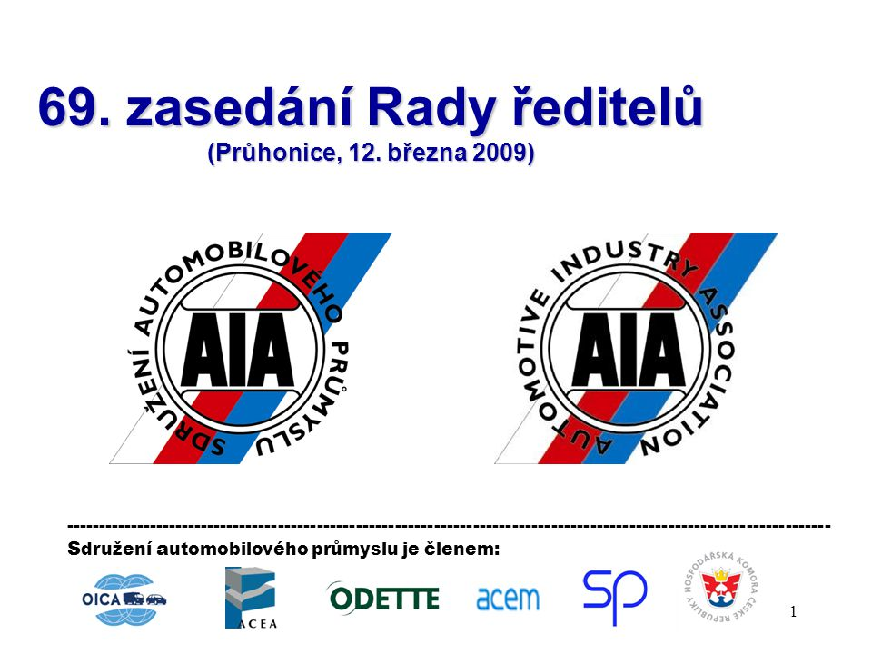 42 Bod programu zasedání: Předpokládaný čas: 12.00 – 13.30 5.