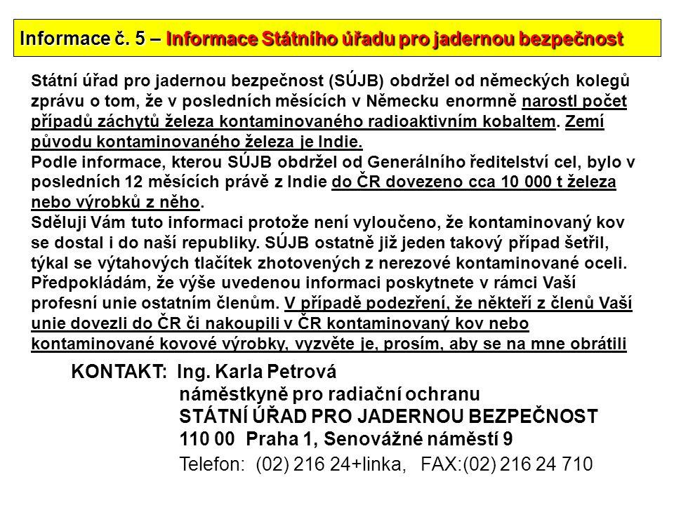 54 Informace č.