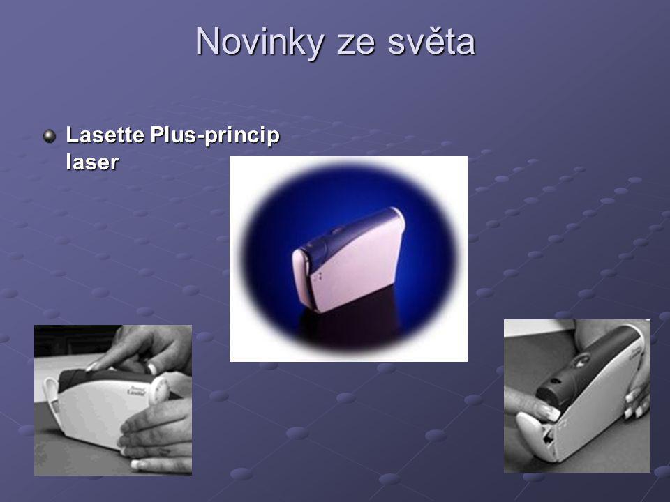 Novinky ze světa Lasette Plus-princip laser