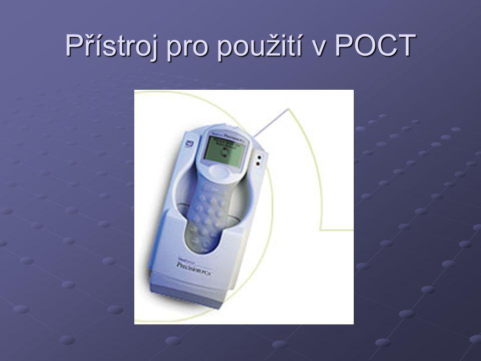 Přístroj pro použití v POCT