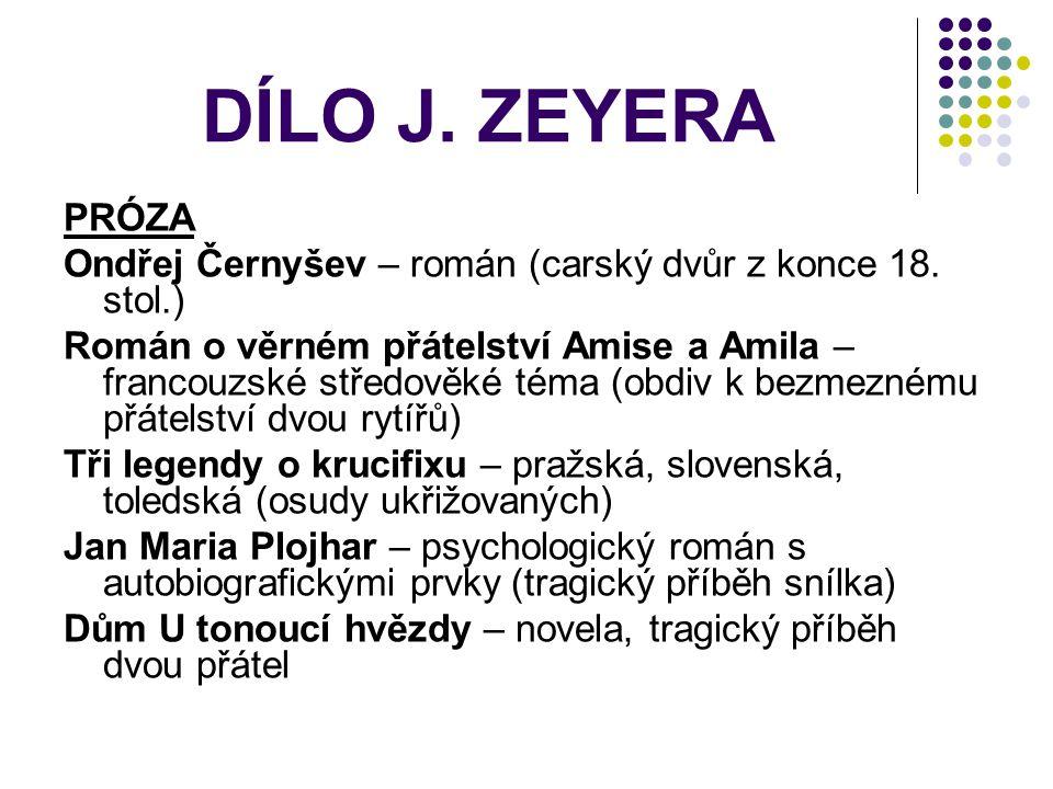 PRÓZA Ondřej Černyšev – román (carský dvůr z konce 18.
